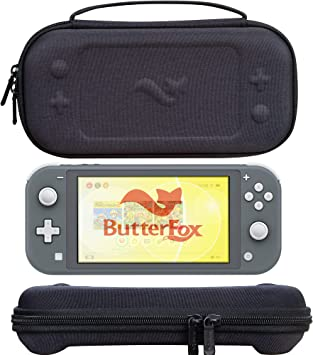 ButterFox - Funda de Transporte para Nintendo Switch Lite con 19 Juegos y 2 Soportes para Tarjetas Micro SD, Color Negro: Amazon.es: Electrónica