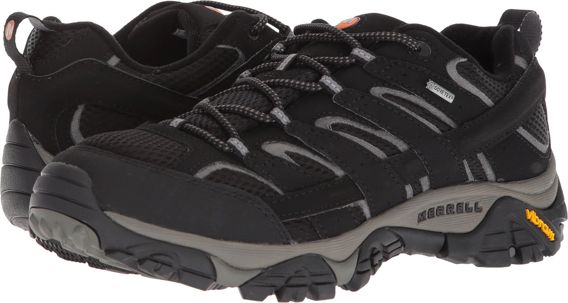 Merrell Men's Moab 2 GTX Hiking Shoe Black 11.5 D(M) US by Merrell