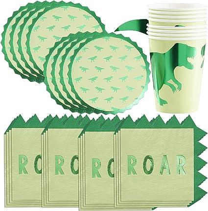 Amazon.com: Ginger Ray - Platos de papel, vasos y ...
