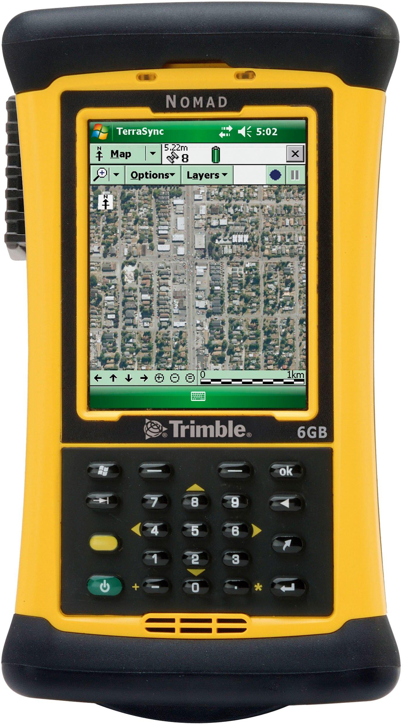 Trimble Navigation Nomad 900B Rugged Handheld Computer Numeric Keypad 806MHz Processor, 128MB RAM/512MB Flash, 5200mAh Lithium-ion Battery NMDAAG-111-00 by Trimble Navigation by TRIMBLE (Image #1)