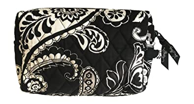 aec85bd399 Amazon.com   Vera Bradley Medium Cosmetic Bag (Midnight Paisley with ...