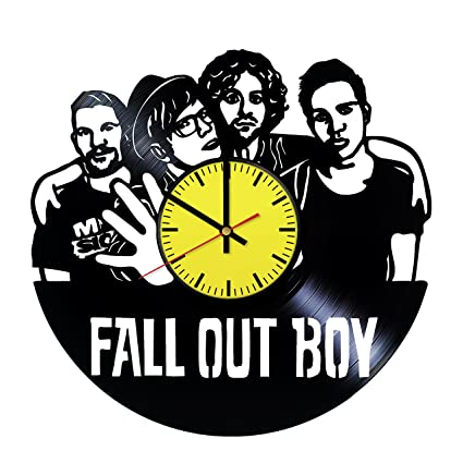 fall out boy music vinyl wall clock handmade gift for any occasion unique birthday - Fall Out Boy Christmas