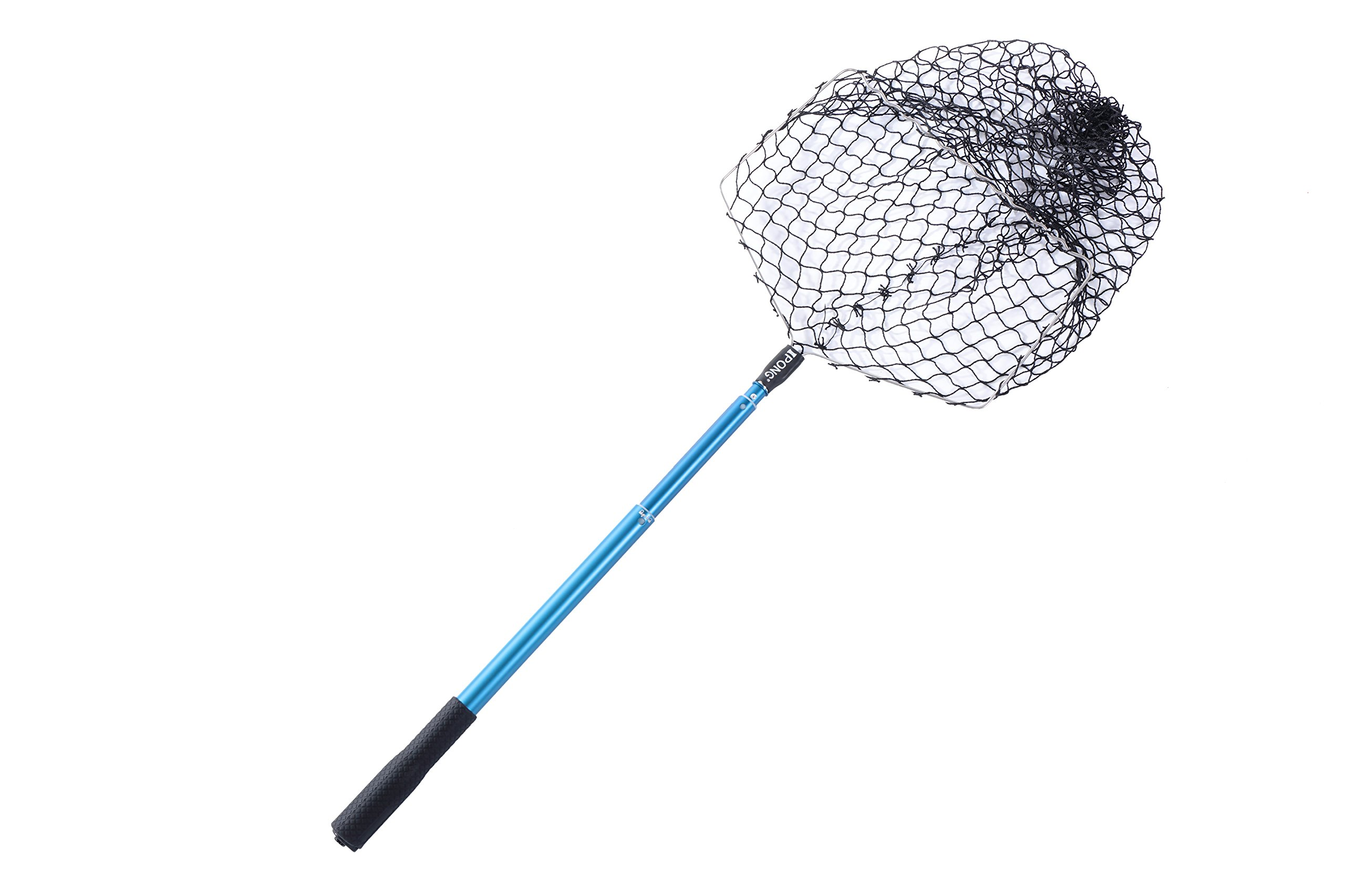 iPong Telescoping Table Tennis Ball Pickup Net - Featuring Ergonomic Design and Increased Holding Capacity