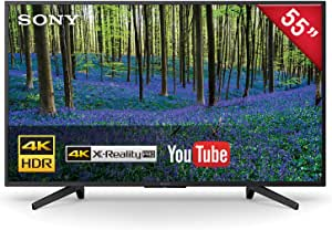 "TV Sony 55"" - 4K UHD HDR - 4K X-Reality PRO - Smart TV -55X720F"