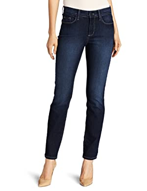 NYDJ Women's Alina Legging Fit Skinny Jeans, Hollywood Wash, 12