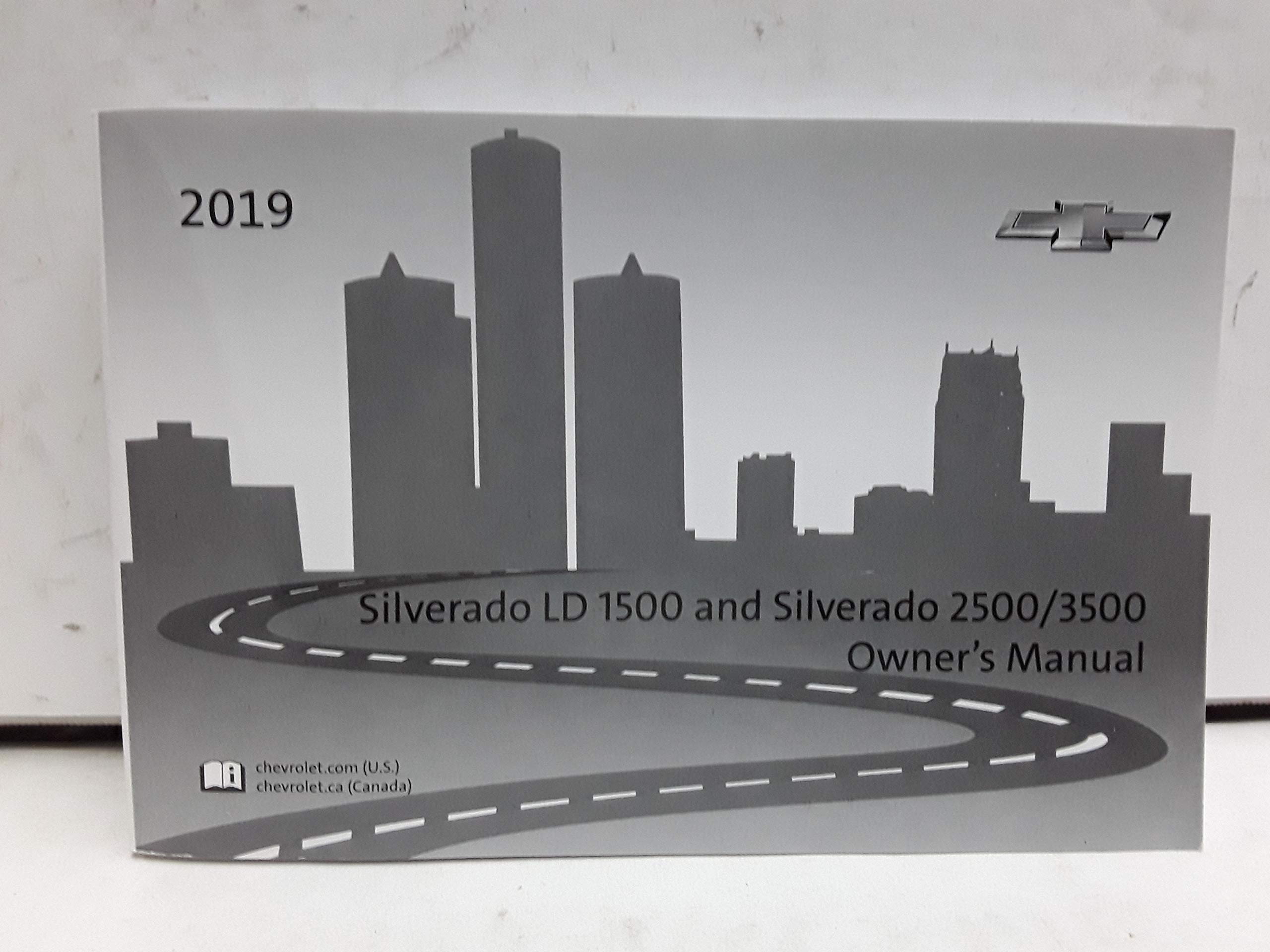 2019 Chevrolet Silverado Owners Manual Chevrolet Cars