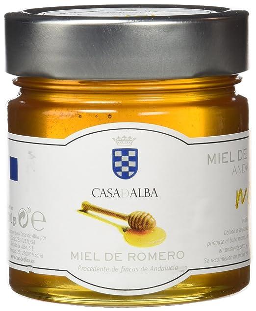 Casa de Alba Fine Food Miel de Romero - 2 Paquetes de 300 gr - Total