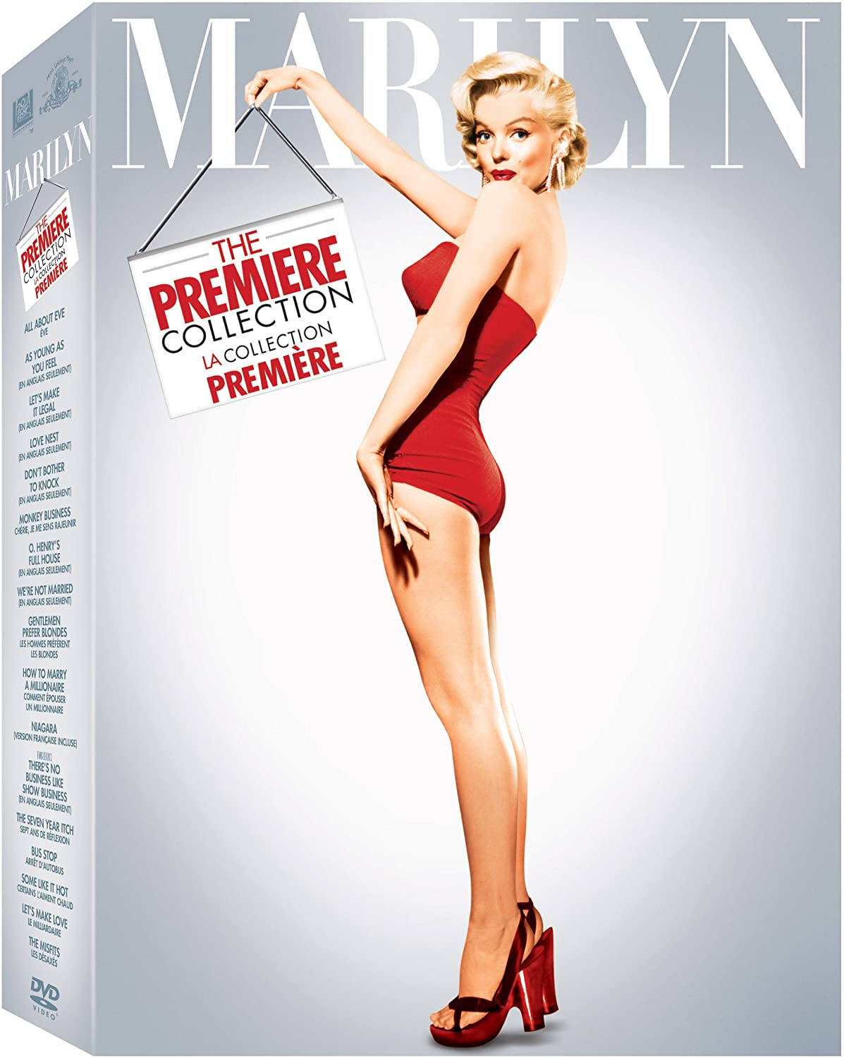 Marilyn: The Premiere Collection (Bilingual): Amazon.ca: Marilyn ...