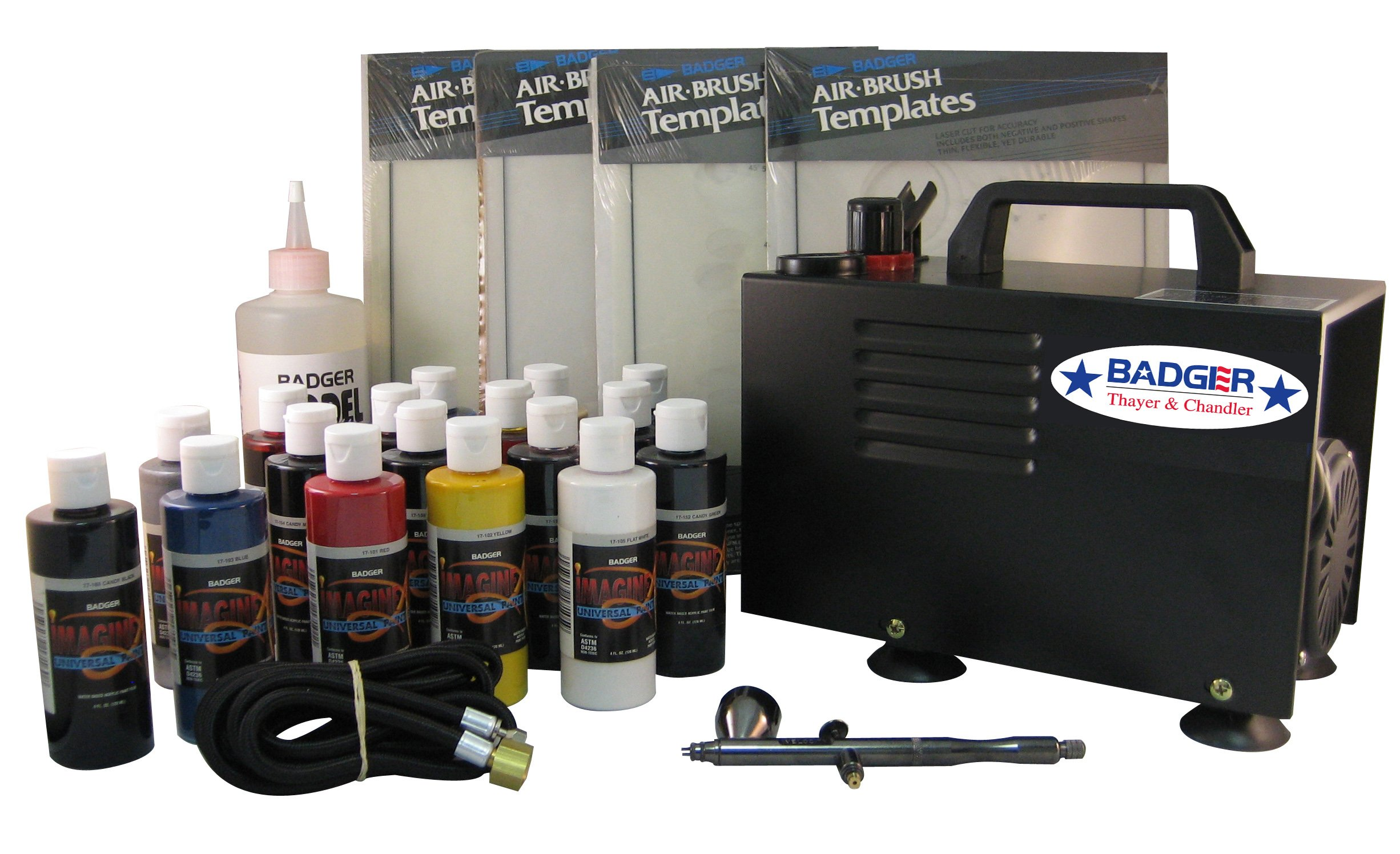 Badger Air-Brush Co.  314-APWC Automotive Advanced/Pro System with Compressor