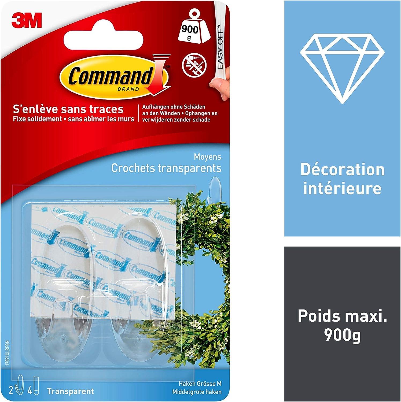 Command Multi-Pack de Crochets Moyens 17001-6