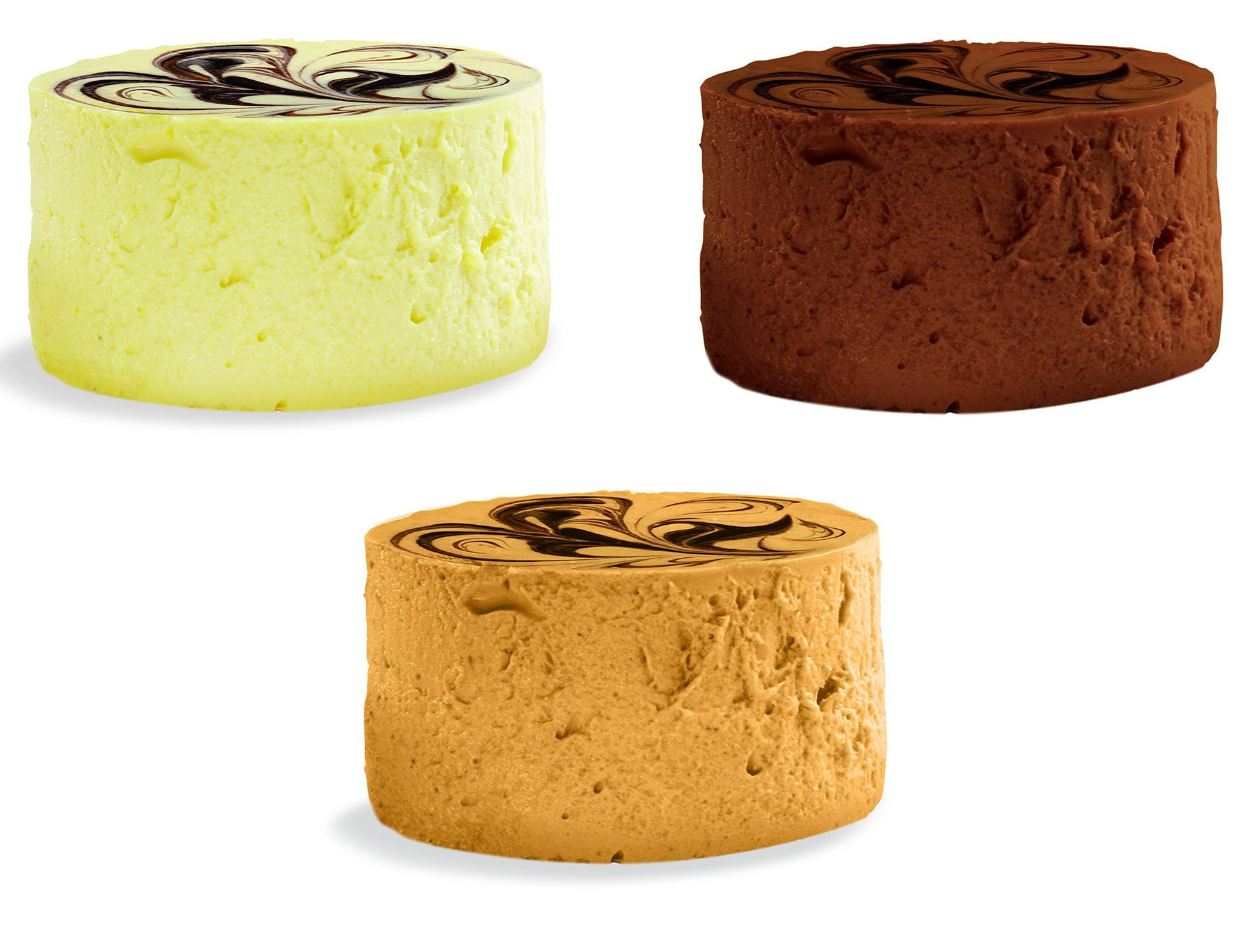 Variety pack of 12 Say Cheese gourmet gluten free Mini Diet Cheesecakes - 3 Flavors