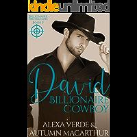 David, Billionaire Cowboy: Sweet, Clean Christian Romance with Suspense (Billionaire Protectors Book 3)