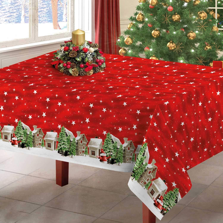 140x180 cm Rosso Centesimo Web Shop TOVAGLIA Natalizia in 3 Misure Invernale Inverno Neve Natale Rossa Stelle