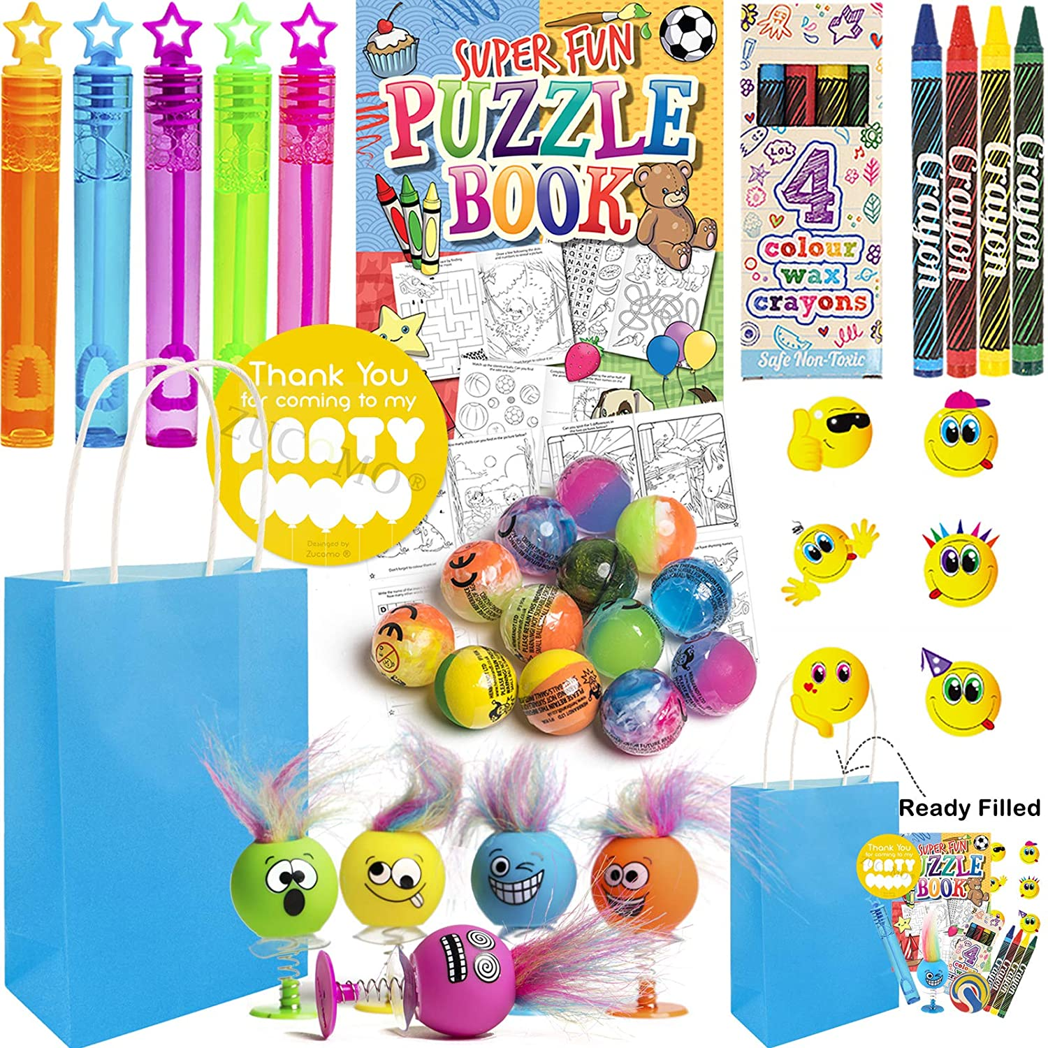 Filled Party Bags Pre Filled Jungle Party Bags Birthday Ideas Party Packs