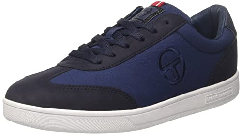 Sergio Tacchini Brighton CDX, Sneaker Uomo, Blu (Navy), 45 EU