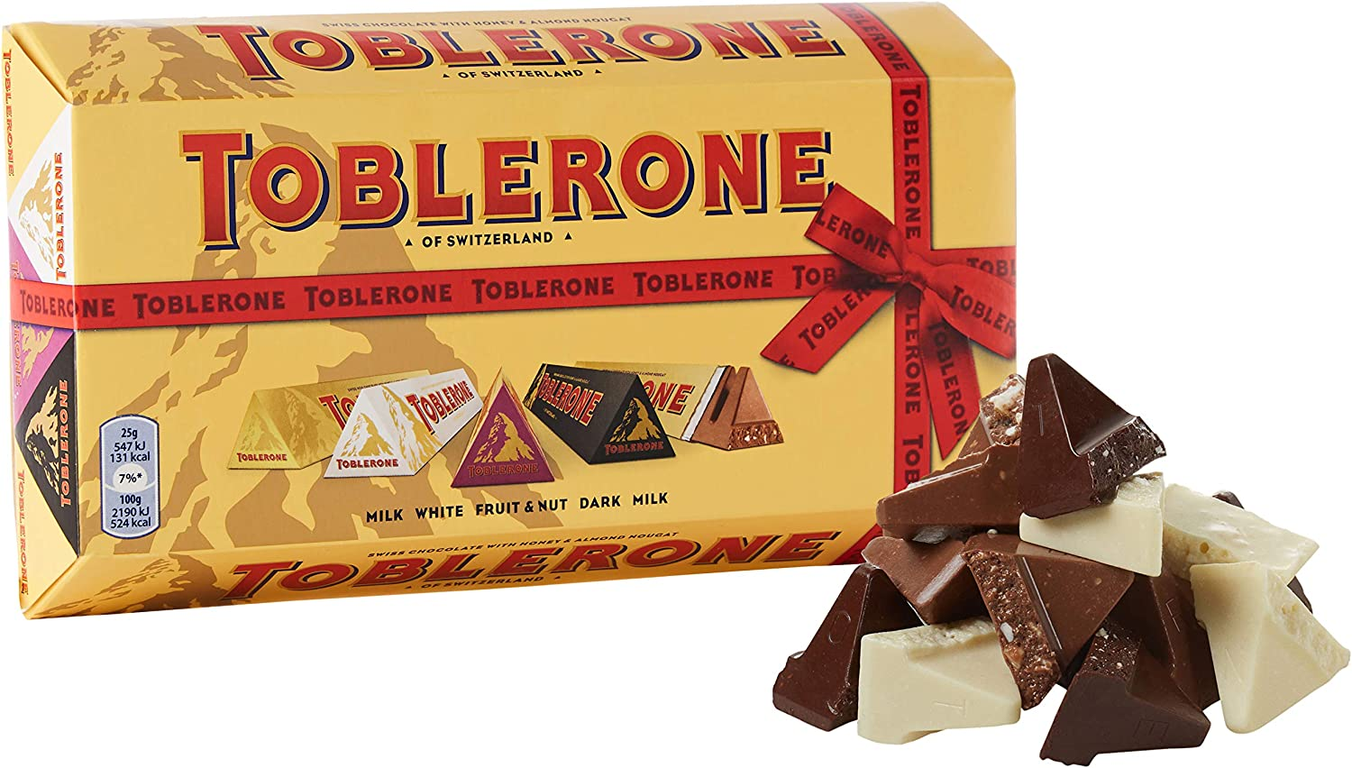 Toblerone Bundle grandes barras, 500 g