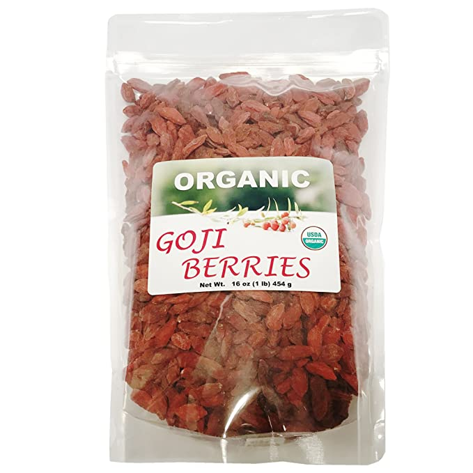 Organic Goji Berries 1 Lb Amazon Com Grocery Gourmet Food