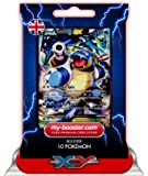 BLASTOISE EX (Tortank) FULL ART XY122 180HP XY10 - Booster de 10 cartes Pokemon anglaises my-booster