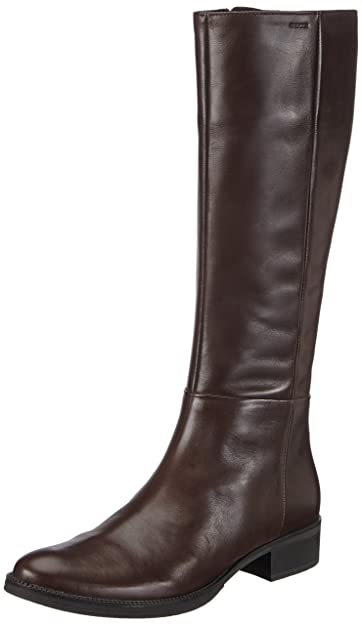 eb67ad8133 Geox D Mendi Stivali P, Women's Ankle Riding Boots, Brown (Coffeec6009),
