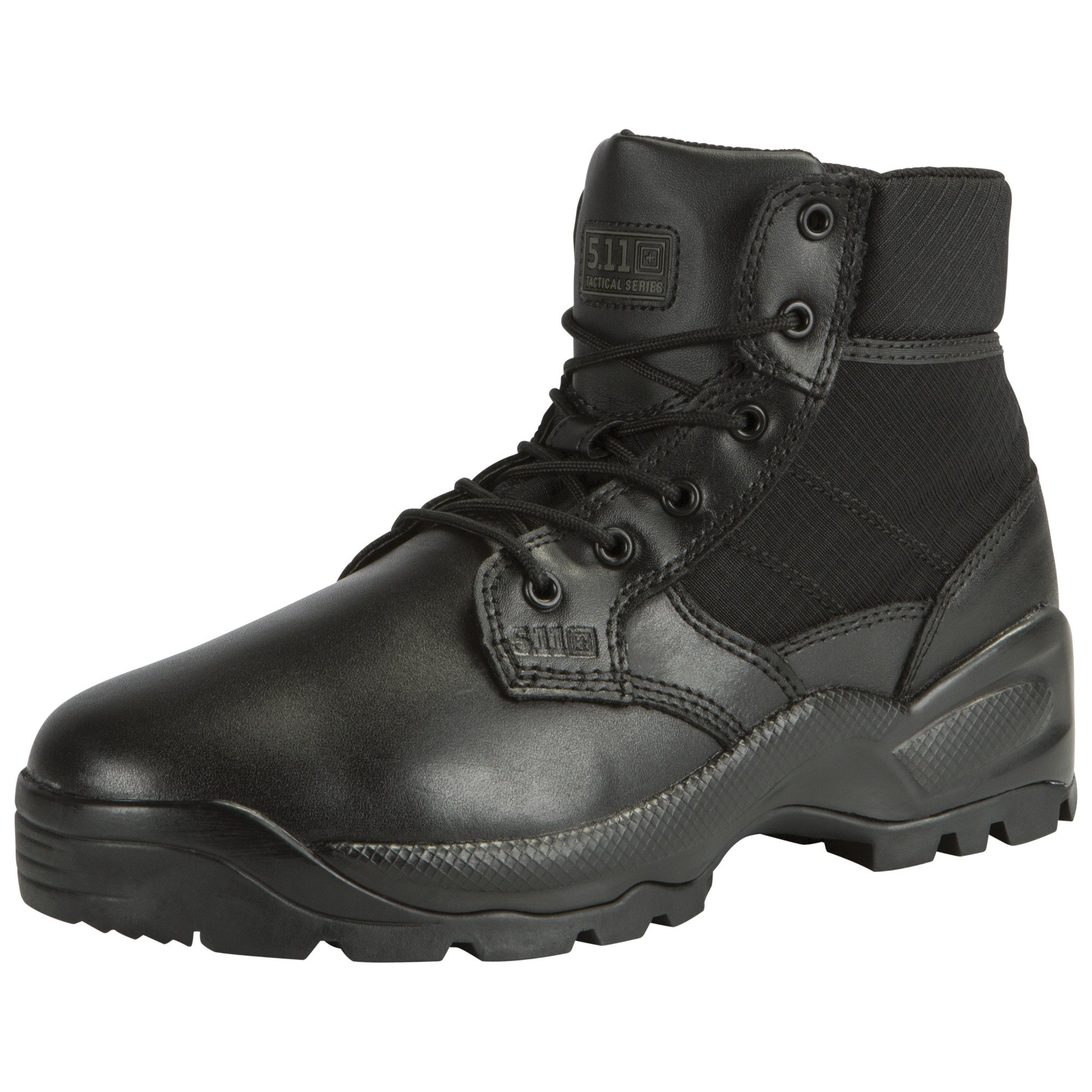 5.11 Tactical Men's Speed 2.0 8 Inch Side Zip Tactical Boot,Black,7 2E US