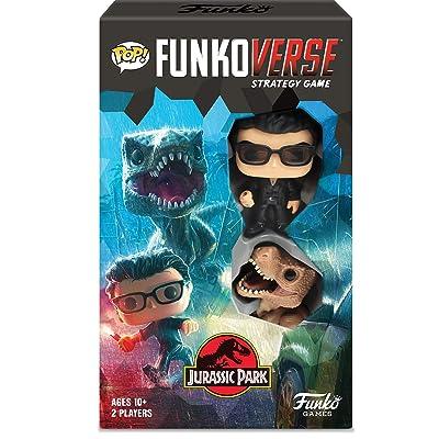 Funko Pop! Funkoverse: Jurassic Park Expandalone, Multicolor: Toys & Games