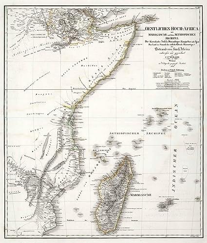 Amazon world atlas 1841 madagascar somalia mozambique world atlas 1841 madagascar somalia mozambique kenya somaliland historic gumiabroncs Images