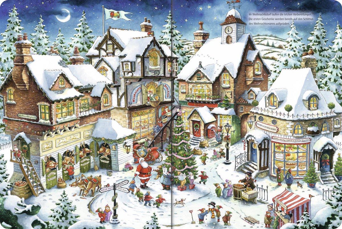 Wimmelbuch Weihnachten.Mein Extradickes Wimmelbuch Weihnachten 9783838000480 Amazon Com