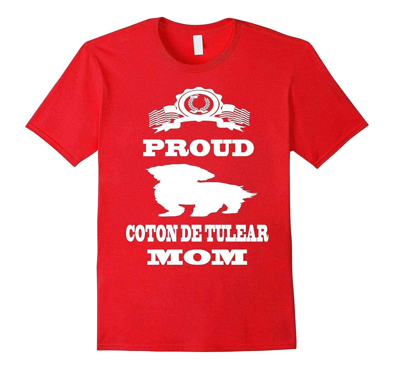 Con De Tulear Dog Breed Mom T Shirt-TH