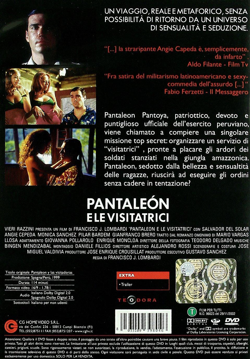 Pantaleon E Le Visitatrici Amazon It Vari Vari Vari Film E Tv
