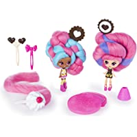 """Candylocks, BFF 2 Pack, 3"""" Cora Crème & Charli Chip, Scented Collectible Dolls with Accessories"""