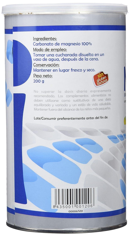 CARBONATO MAGNESIO 200 gr: Amazon.es: Salud y cuidado personal