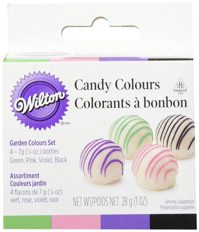 Wilton Colour Kit 1-Ounce Candy 4 Colour, Garden 2201-1374