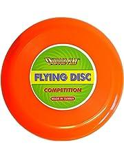 Outdoor Play Flying Disc Frisbee   Competición (Diámetro DE 28cm Competition con Vuelo Excelente, Neon Naranja