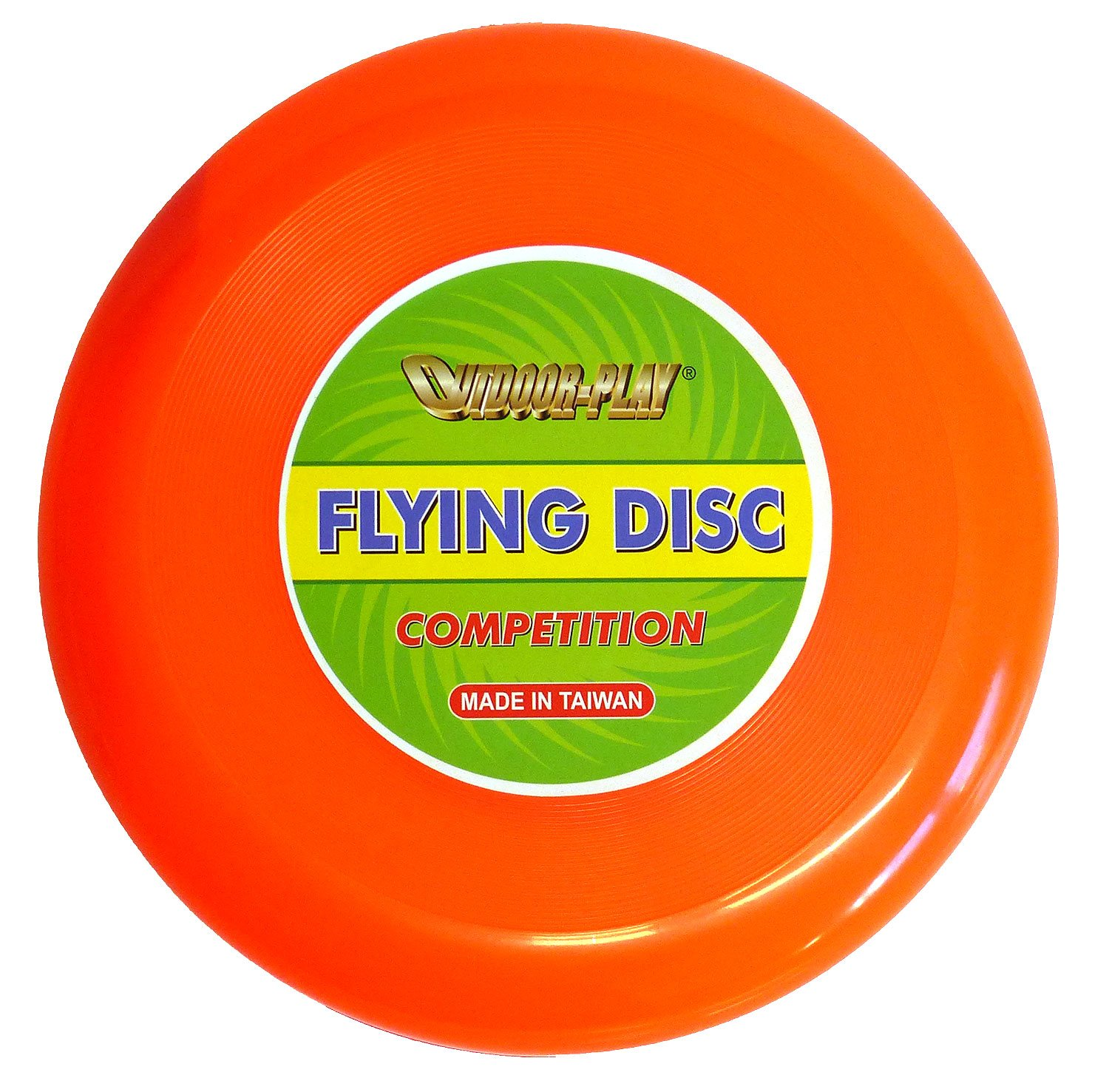 Outdoor Play Flying Disc Frisbee | Competició n (Diá metro DE 28  cm Competition con Vuelo Excelente, Neon Naranja JC-175A