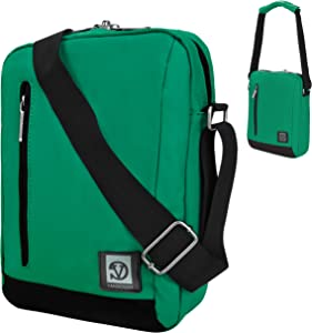Adler 10.2 Premium Coated Vegan Leather Carrying Shoulder Bag For HP Stream 8, HP 8 G2, HP 8, Slate 8 Pro Tablet
