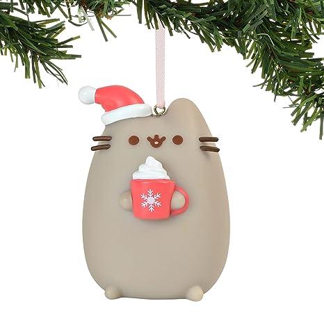 Meowy Christmas.Department 56 Pusheen Meowy Christmas Pvc 2 75 Inch Hanging Ornament