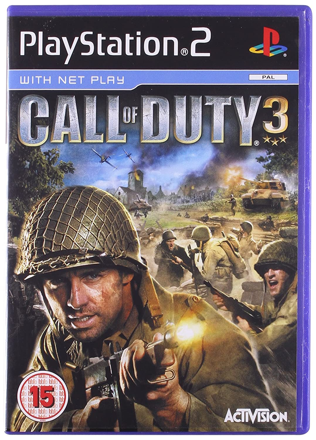 Amazon.com: Call of Duty 3 (PS2): Video Games
