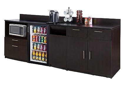 amazon com coffee kitchen lunch break room furniture cabinets fully rh amazon com