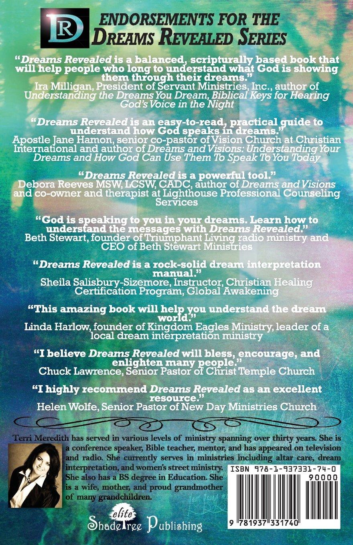 Dreams revealed handbook for biblical dream interpretation terri dreams revealed handbook for biblical dream interpretation terri meredith 9781937331740 amazon books buycottarizona