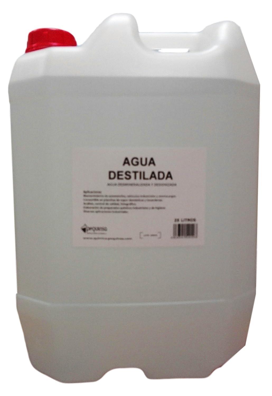 Pequinsa - Acqua Distillata, in tanica da 25 l PREPARADOS QUIMICOS DE NAVARRA