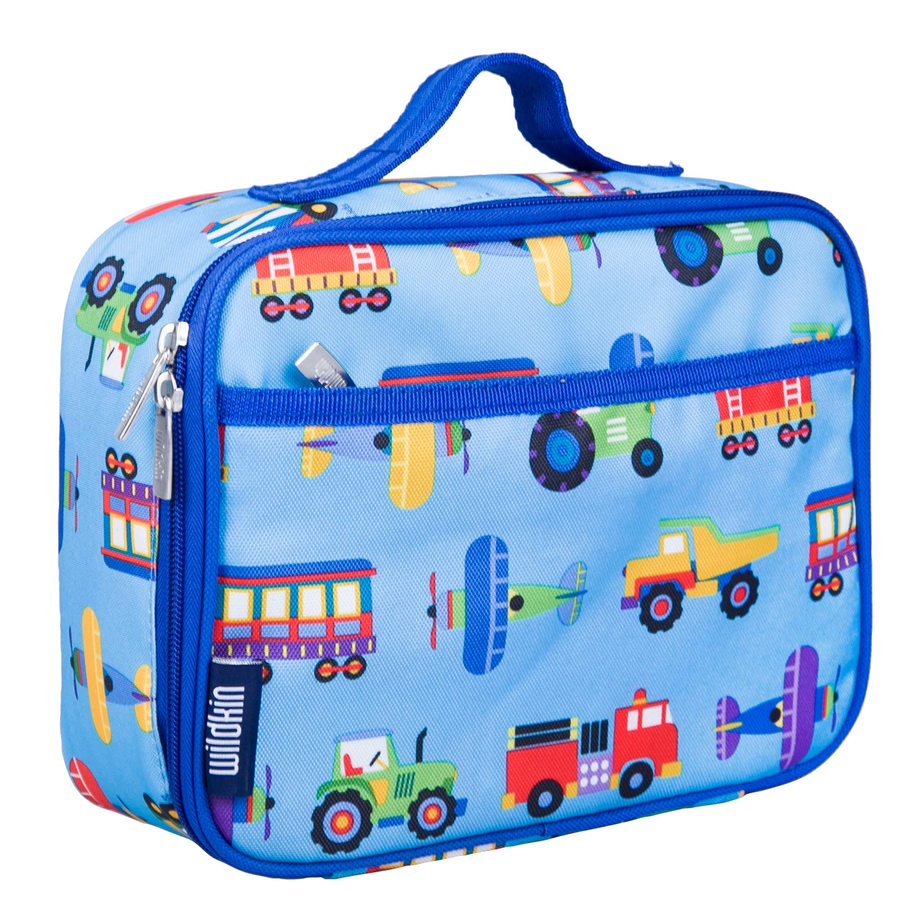 Wildkin Kids Insulated Lunch Box for Boys and Girls, Perfect Size for Packing Hot or Cold Snacks for School and Travel, Patterns Coordinate with Our Backpacks and Duffel Bags by Wildkin