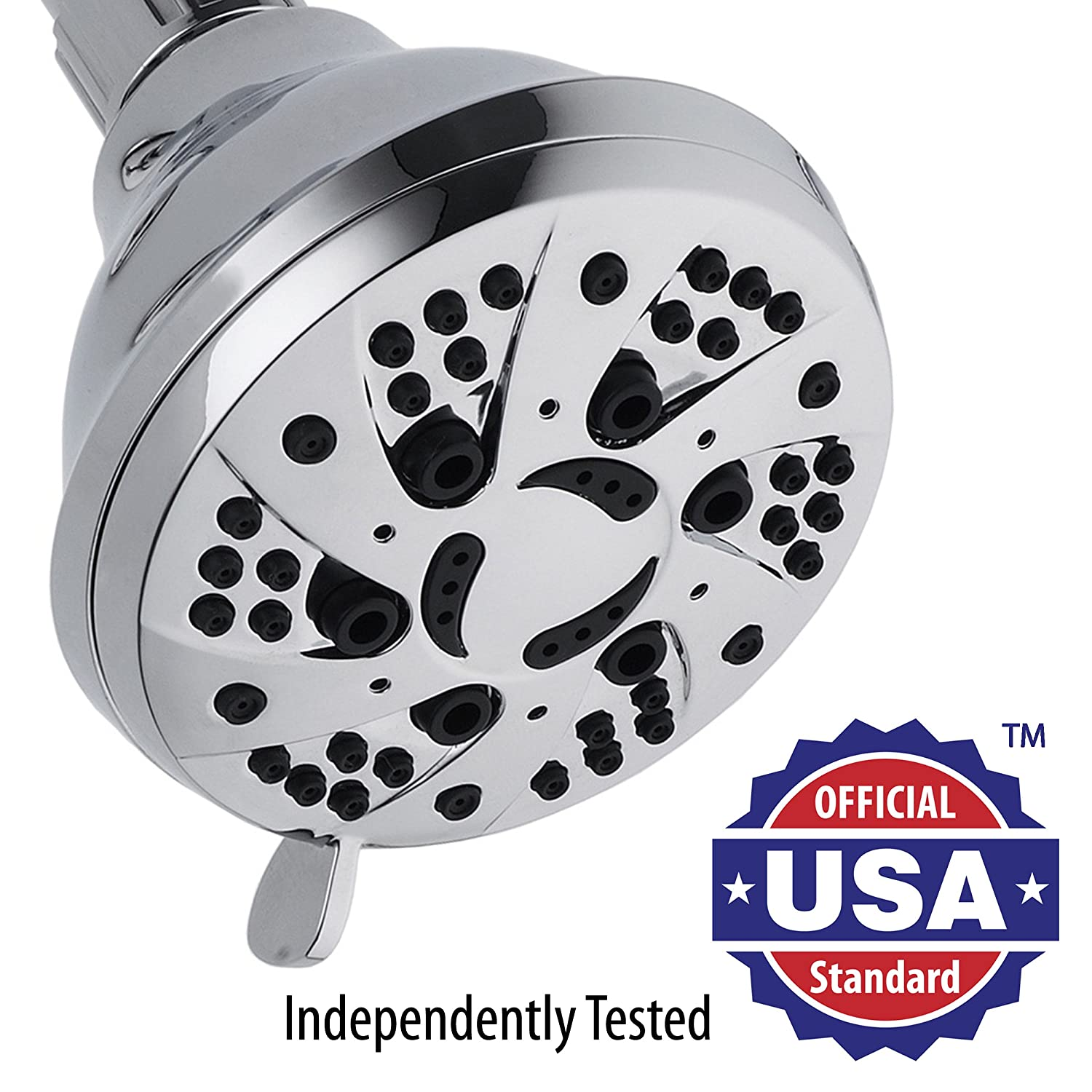 AquaDance High-Pressure 6-setting 3.5-inch Shower Head for the ...