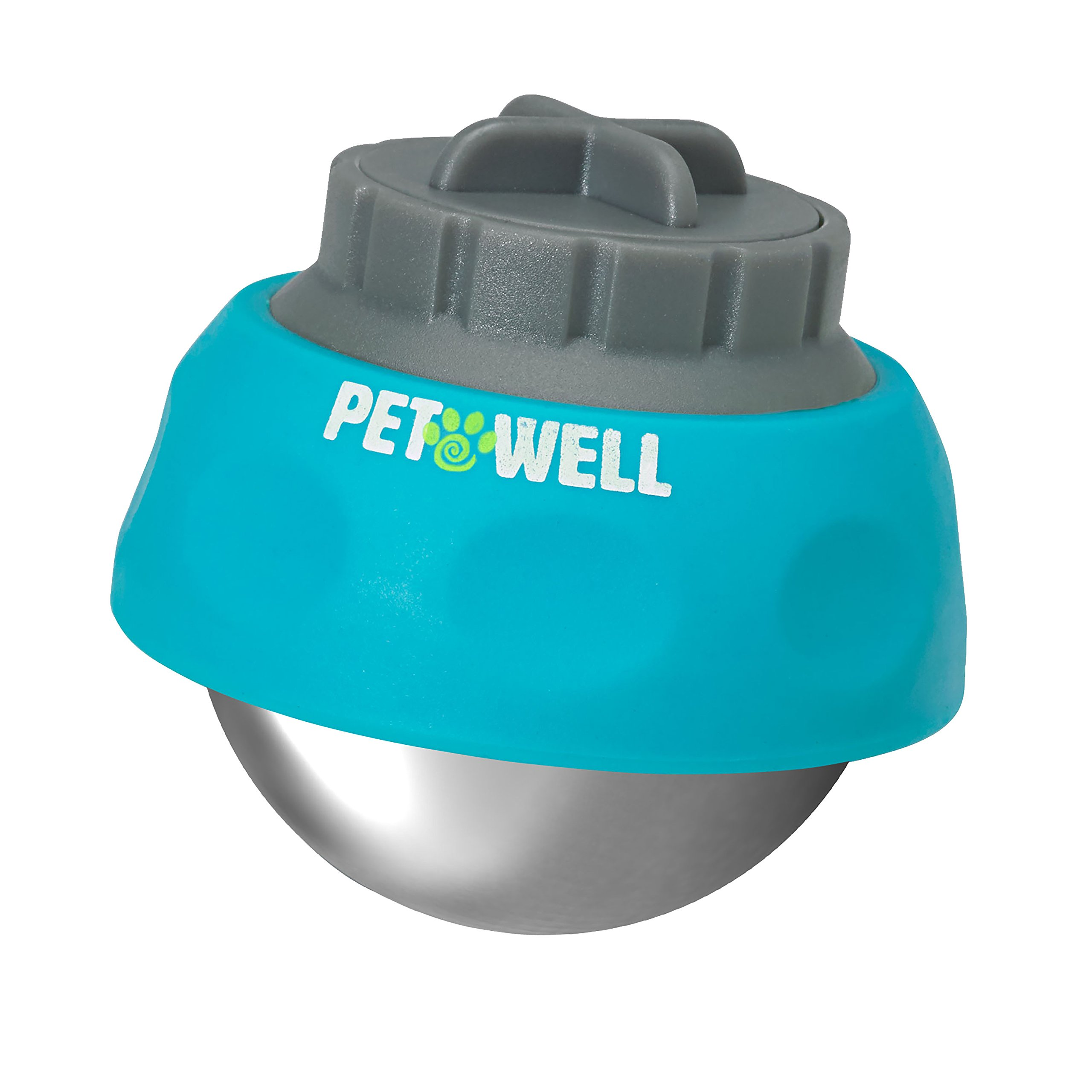 PetWell All-Over Handheld Massage Roller for All Size Pets (Dogs, Cats)
