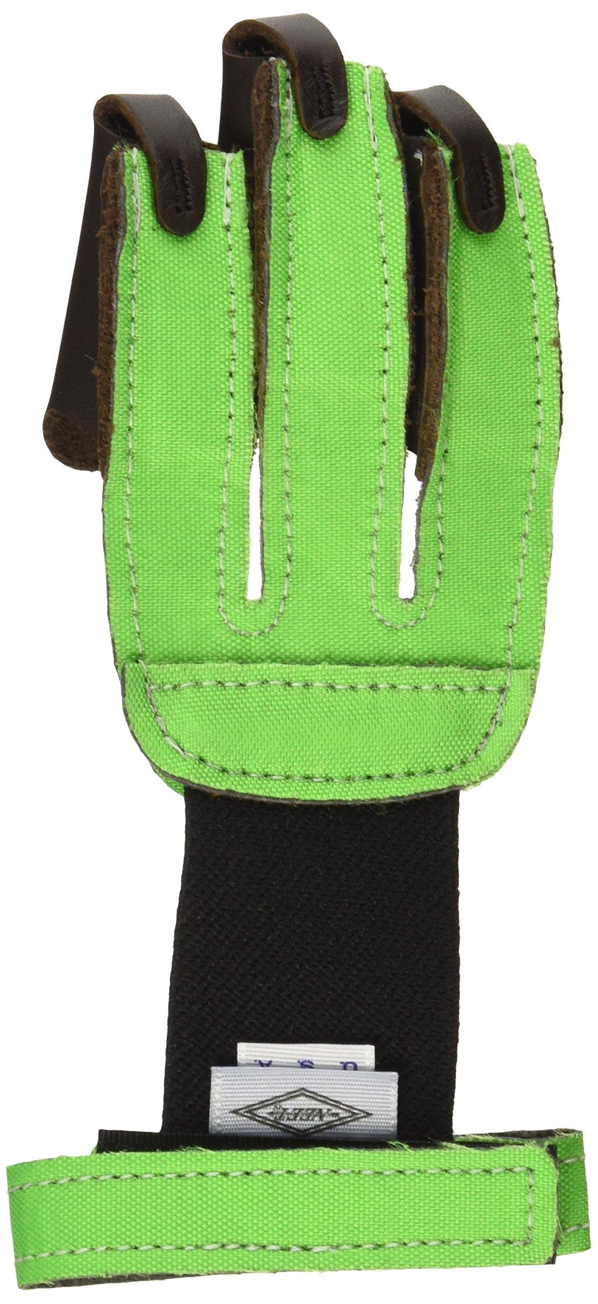 Neet 60021 FG-2N Gloves, Small, Neon Green