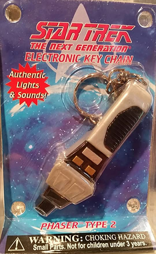 amazon com star trek the next generation phaser type 2 key chain
