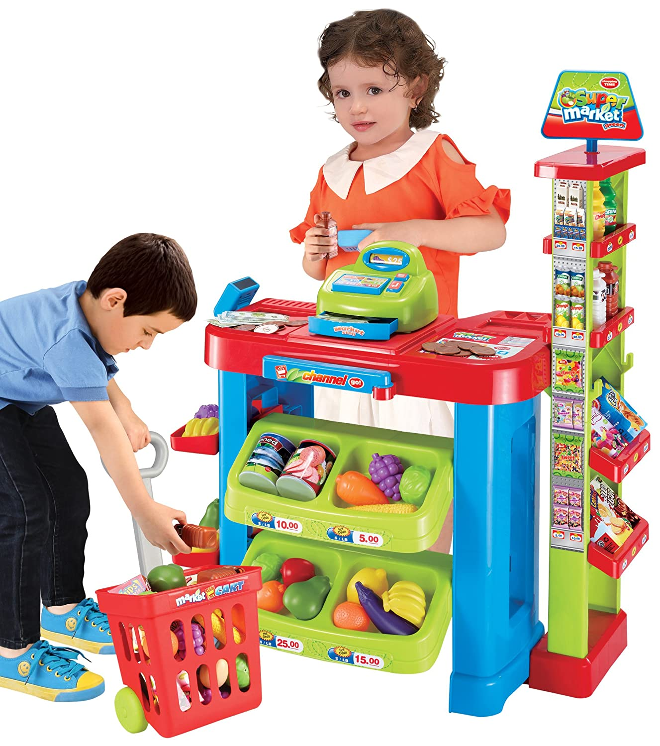 Amazon Berry Toys Play All Day Supermarket Play Set Toys & Games