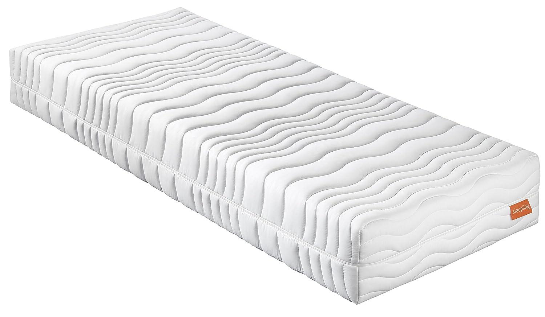 Sleepling 190164 Matratze Innovation 300 XXL Wellness KS medium Härtegrad 2,5 100 x 200 cm, weiß