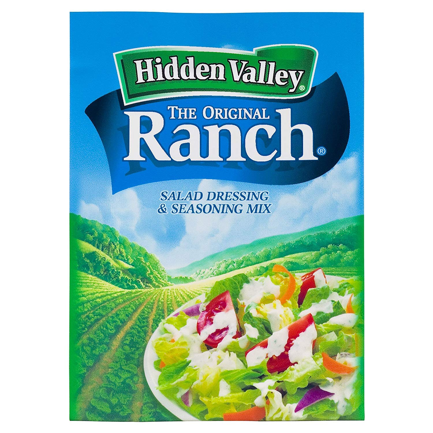 Hidden Valley Original Ranch Salad Dressing and Seasoning Mix, 1.0 Ounce (Pack of 24) by Hidden Valley