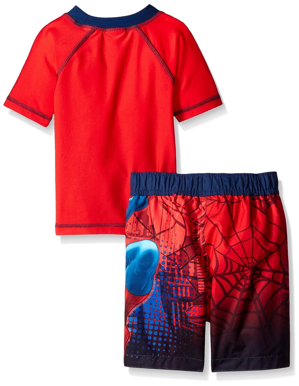 Marvel Toddler Boys Spiderman Swim Set