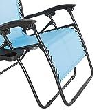 Pure Garden Zero Gravity Outdoor Reclining Foldable